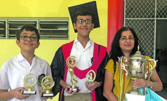 Divyesh's Hard Work Leads To Dux Award