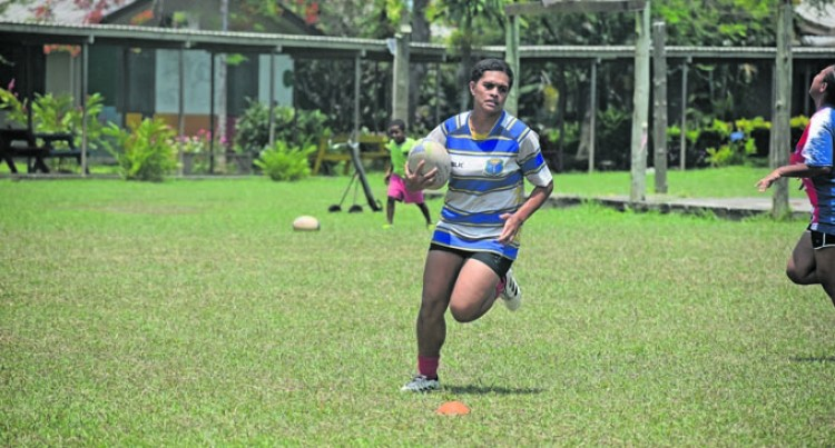 Rugby Clinic In Nadi For Students