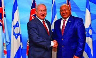 Bainimarama And Israeli PM Celebrate Nations' Bond