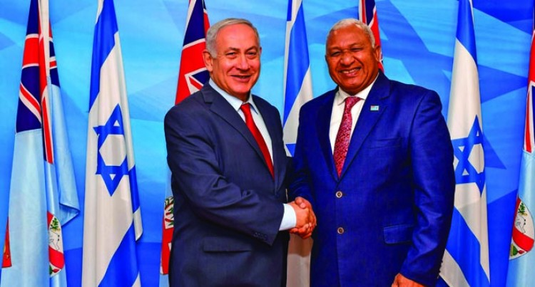 Bainimarama And Israeli PM Celebrate Nations' Bond