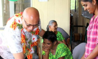 President Konrote Visit Golden Age Home Labasa