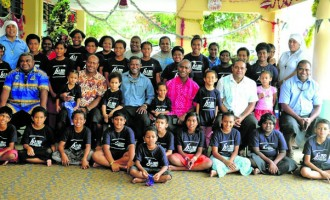UNDOF Peacekeepers Visit St Christopher's, Dilkusha Home