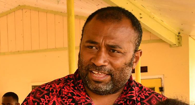 Minister for Health and Medical Services Dr Ifereimi Waqanaibete.  Photo: DEPTFO News