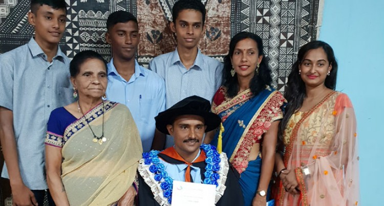 Singh Is University Of Fiji's First PHD Graduate