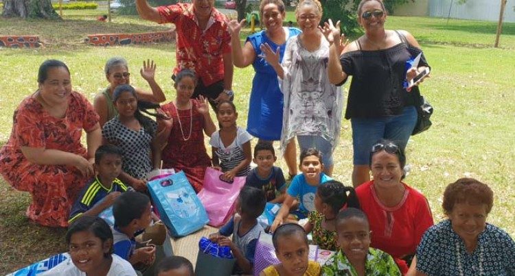 Westpac, Mana Fiji Put Smiles On Children's Faces