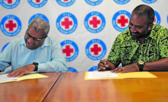 Red Cross, Ola Fou (Fiji) Trust Seal Historic MOU