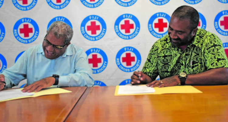 Red Cross, Ola Fou (Fiji) Trust Seal Historic MOU