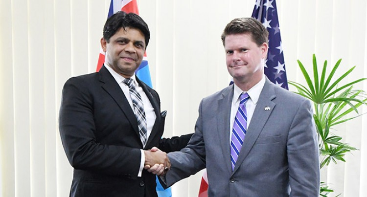 A-G Meets US Assistant Defence Secretary for Asia, Pacific Affairs
