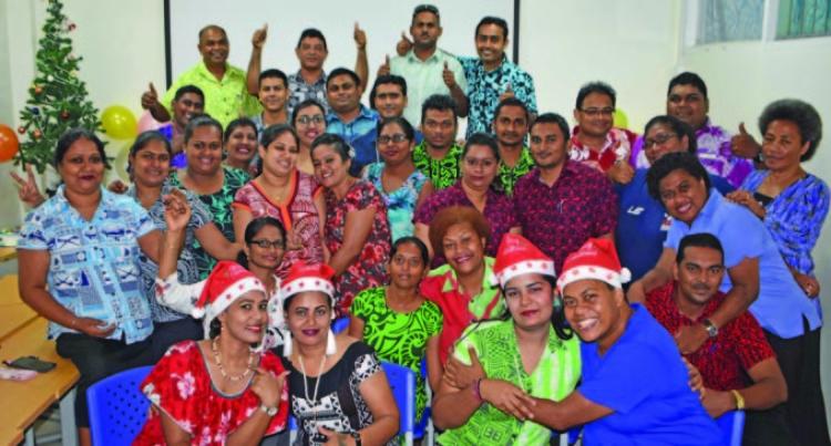 Labasa Campus Join Festive Mood