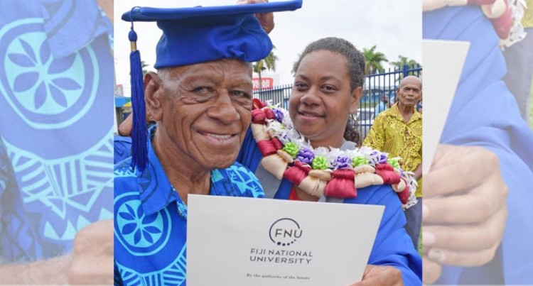 Graduate Credits Her Grandfather As Her Source Of Inspiration