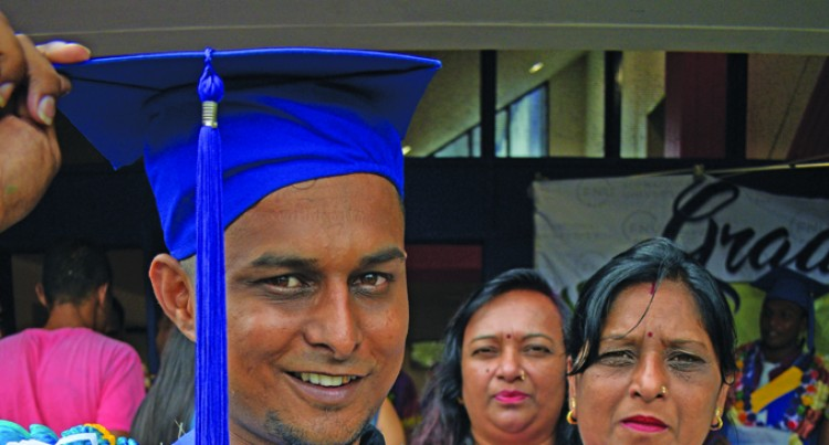 Chand First in Family to Graduate From Uni