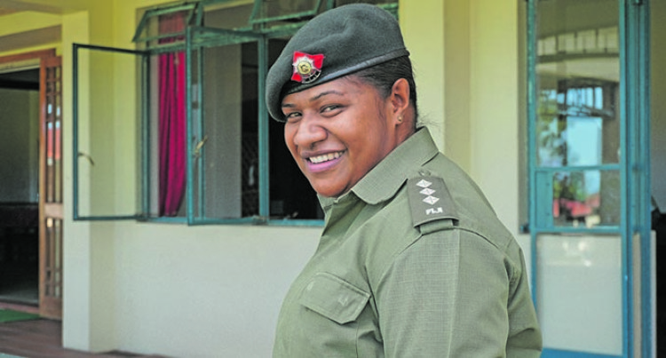 There Is A Need For Female Peacekeepers, Captain Vuniwaqa Says