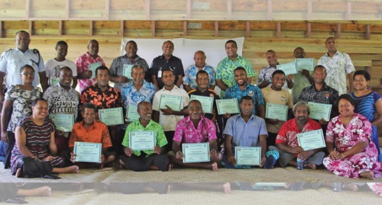 Refresher Course Reminds Fisheries Wardens Of Roles