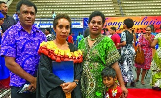 Lutunavuai Beats All Odds To Graduate