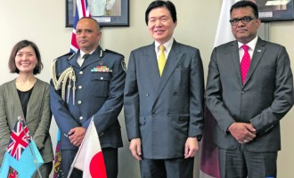 Japan funds maritime safety, security equipment for Police