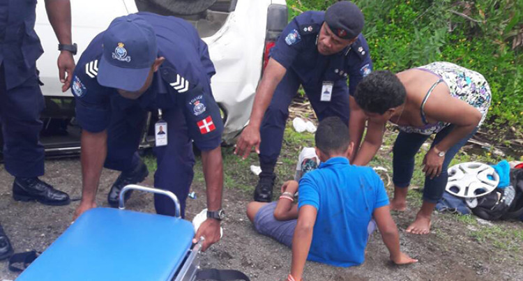 Family Safe After Quick Response From Police Special Response Unit In Namelimeli, Navua