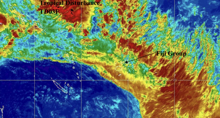 TD03F Continues To Track Closer To Track Closer To Rotuma And Fiji