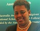Teacher Simmons Targets Better English Skills