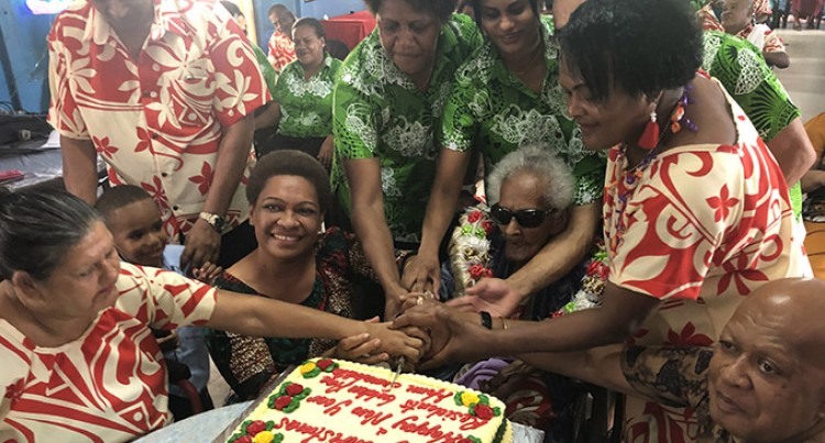 102-year-old thanks God for long life