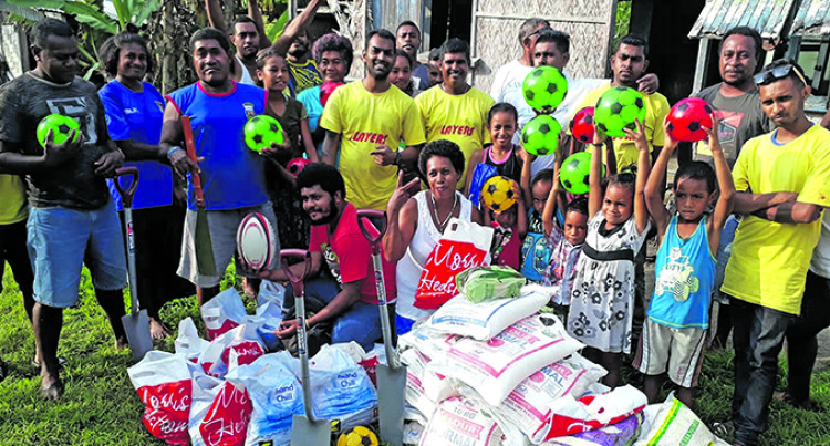 Club Brings Cheers To Several Villages Around Savusavu