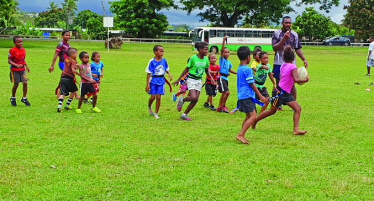 Rugby Clinic In Lautoka