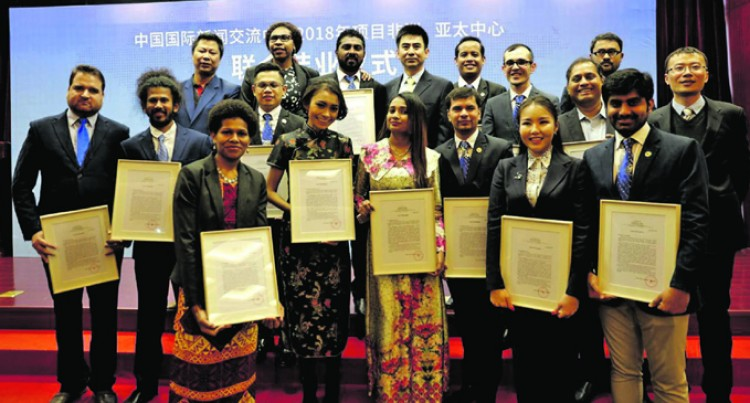 Our Lusi Learns, Graduates In Top China Course