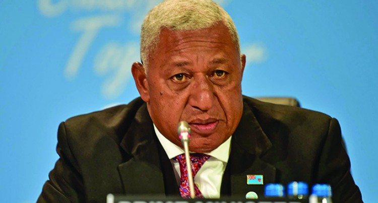 Editorial: Bainimarama's Growing Influence In Climate Change Battle Will Come In Handy In Poland