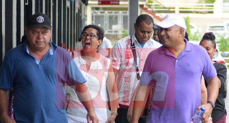 PM Discharged, Spotted With Friends At Flagstaff Plaza