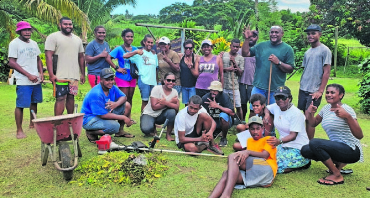Youths Show Care For Old People