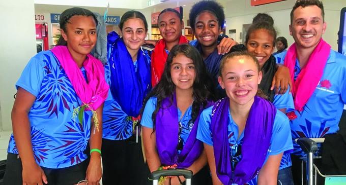 Fijian Netballers Here to Shine