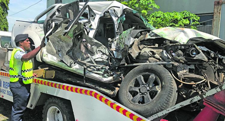 Accident victim still In Lautoka Hospital