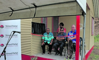 Vinod Patel Foundation Donates Widow House In Teidamu, Ba