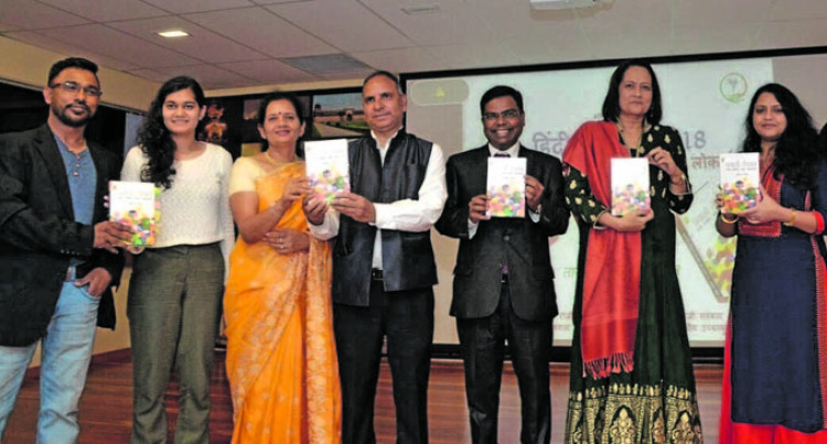Sapkal Leads Celebration Of 'Hindi Divas'