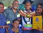 Nurse Graduate Gounder Does Family Proud