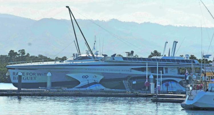 Odyssey Arrives At Port Denarau