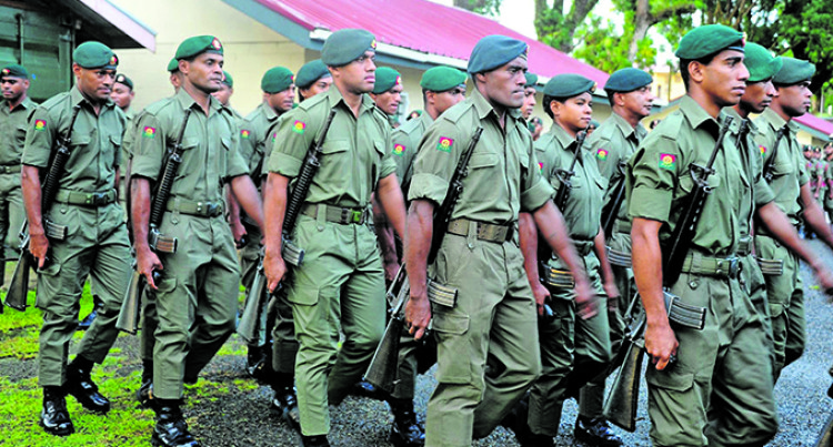 Commander Land Force Colonel Gadai's First Parade For 2019