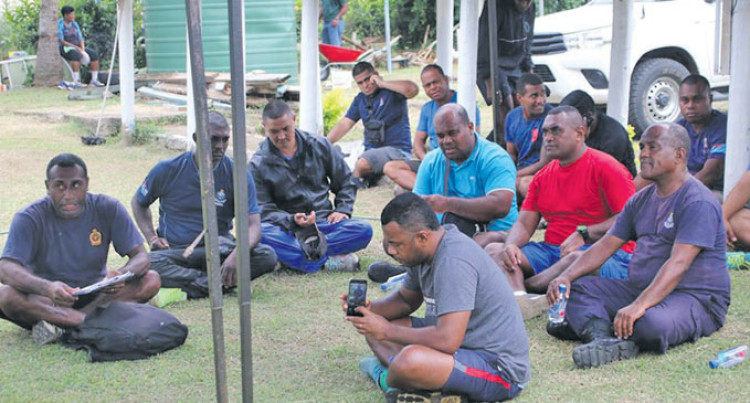 West Police Officers Visit Communities In Bonding Exercise