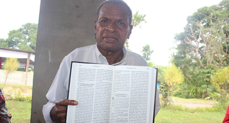 Villagers Launch Bible In Their Dialect