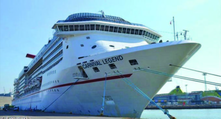Carnival Legend First To Arrive Into Fiji This Year