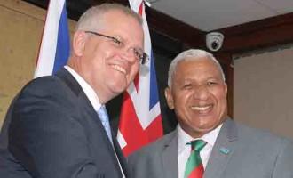Fiji and Australia Set new 'Vuvale' Partnership