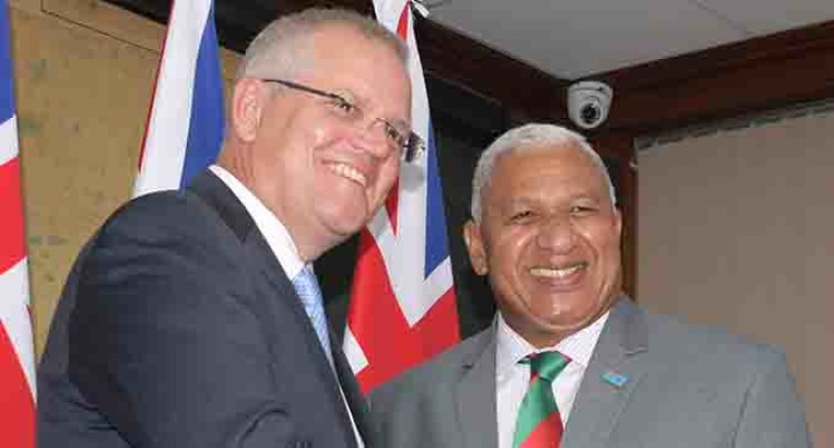 Fiji and Australia Set new 'Vuvale' Partnership