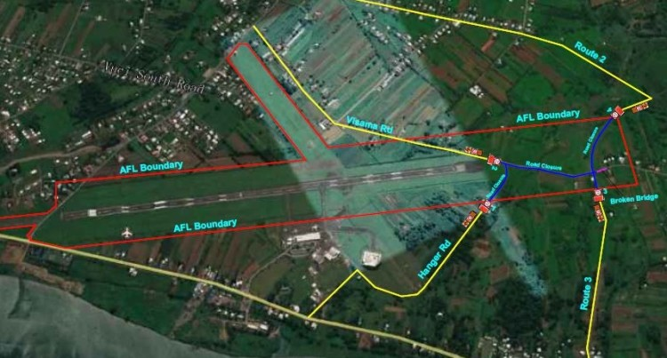 Fiji Roads Authority: Visama Road To Close Indefinitely Due To The Nausori Airport Upgrade