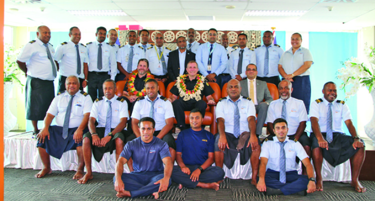 Australian Border Force Commissioner Visits FRCS