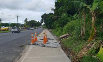Footpaths Bring Joy To Ratepayers Of Lautoka