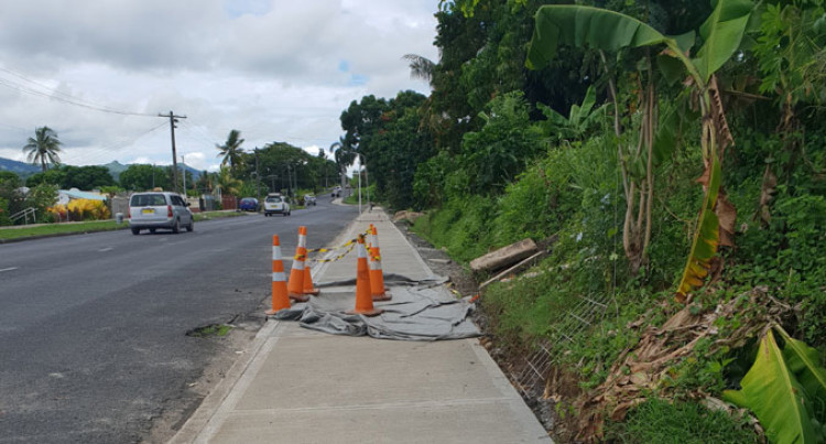 Footpaths Bring Joy To Ratepayers Of Lautoka