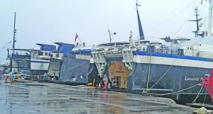Shipping Services Resume After TC Mona Leaves Fiji