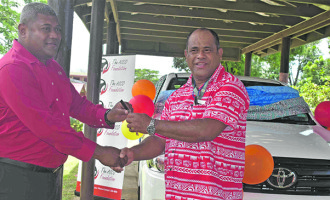 Vehicle Boost For Sigatoka Special School