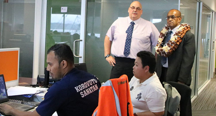 Usamate Meets Staffs Of Fiji Roads Authority