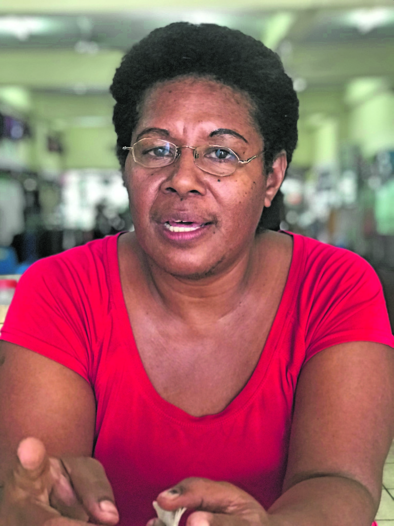 Siteri Tinaitamana is the mother of Kalaveti Sivoi – one of the alleged victims. Photo: Sheldon Chanel