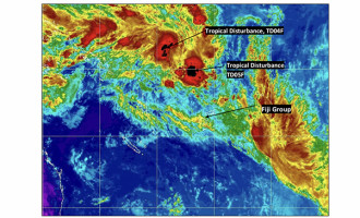 TD04F And Weak TD05F To Merge, Intensify And Move Towards The Fiji Group